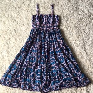 Taylor brand pretty pink/ blue floral dress